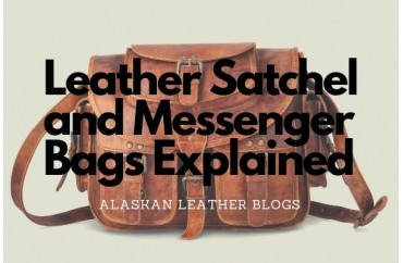 Leather Satchel and Messenger Bags Explained