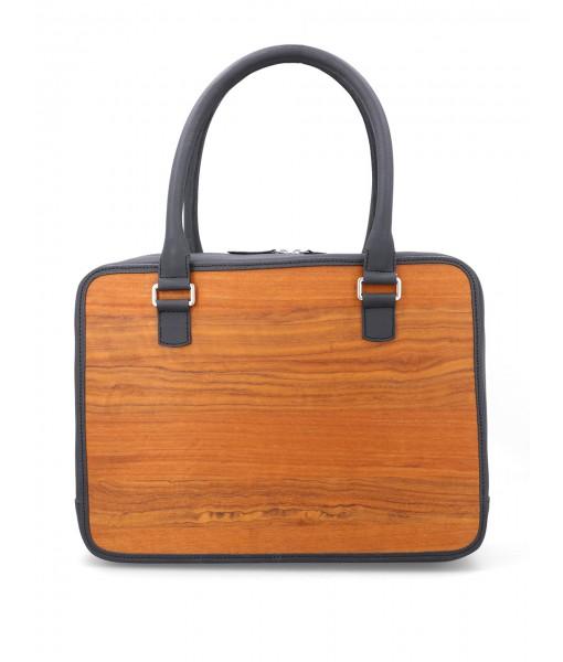 Mr. Woods Mini Leather Briefcase