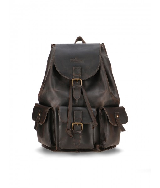 Piper Crazy Horse Leather Backpack