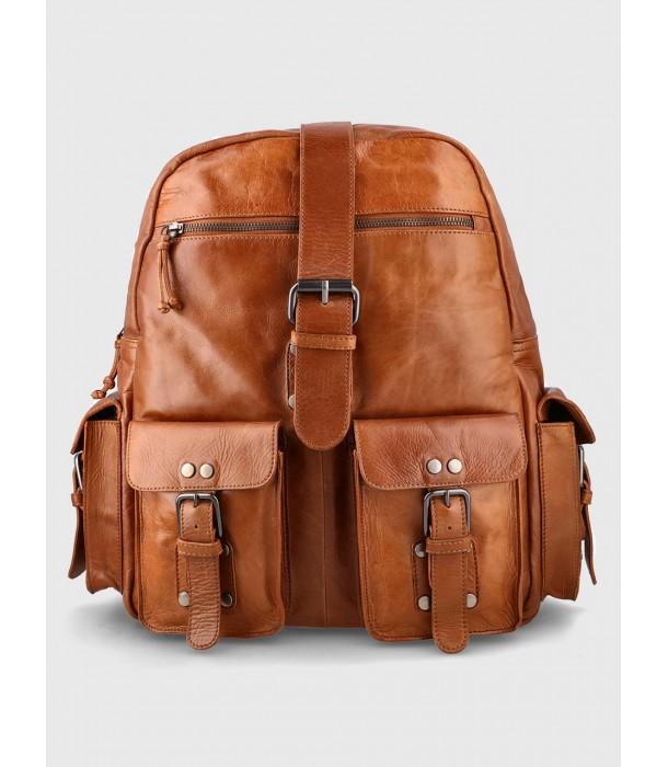 Tank Leather University Backpack