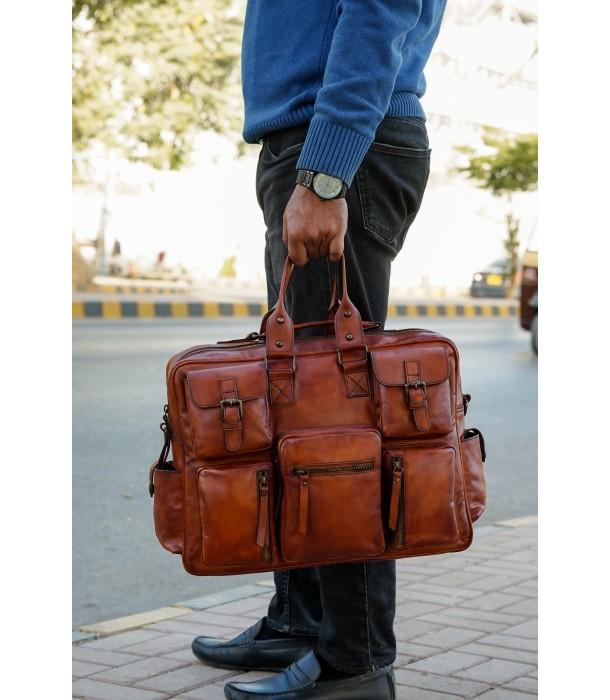 Wagner Leather Pilot Bag